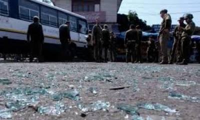 مقبوضہ کشمیر میں فائرنگ اور بم دھماکے سے 2 کشمیری شہید