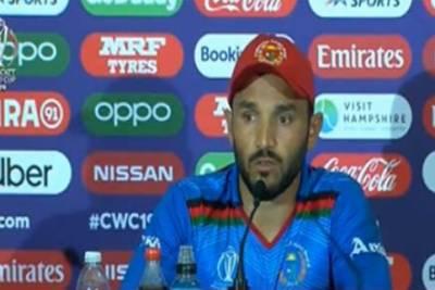 ورلڈکپ 2019: افغان کپتان گلبدین نائب کا پاکستان کے خلاف جارحانہ بیان دینے سے گریز