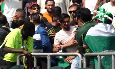 اسٹیڈیم کے باہر پاکستانی، افغان شائقین لڑ پڑے
