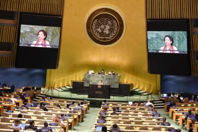 عالمی برادری کو تمام تنازعات کے منصفانہ حل کیلئے اقدامات کرنے چاہیں، ملیحہ لودھی