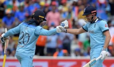 کرکٹ ورلڈکپ؛ انگلینڈ کا بھارت کو جیت کیلئے 338 رنز کا ہدف