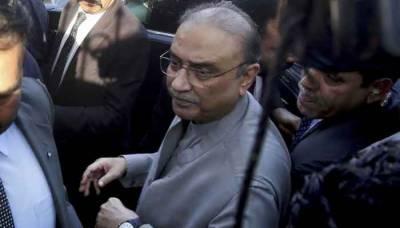 آصف علی زرداری کو پارک لین کیس میں بھی گرفتار