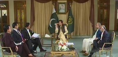 حکومت نے گزشتہ حکومتوں کی جانب سے لئے گئے قرضوں کی مد میں دس ارب ڈالر کی ادائیگی کی : وزیراعظم عمران خان