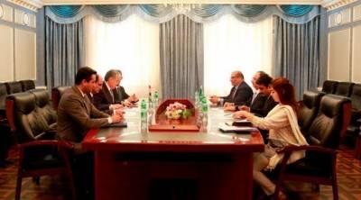 پاکستان تاجکستان کامختلف شعبوں میں دوطرفہ روابط کومزید فروغ دینے کے عزم کااعادہ