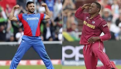 ورلڈ کپ کے غیر اہم میچ میں آج افغانستان اور ویسٹ انڈیز مد مقابل ہوں گے