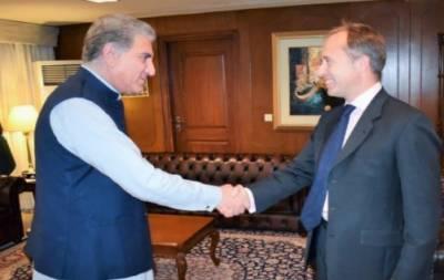 وزیر خارجہ شاہ محمود قریشی سےبرطانوی ہائی کمشنر کی ملاقات
