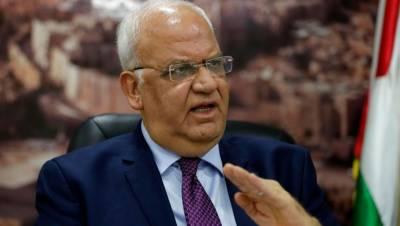 فلسطین نے امریکہ کیساتھ سیاسی تعلقات امن عمل کی بحالی سے مشروط کر دئیے