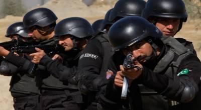 ڈیرہ مرادجمالی:محکمہ انسداد دہشتگردی کے اہلکاروں کیساتھ فائرنگ کے تبادلے میں داعش کاکارکن ہلاک