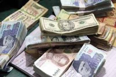 گزشتہ ہفتے ڈالر کی قدر میں 3 روپے کمی ریکارڈ