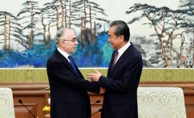 بنگلہ دیشی وزیر خارجہ اور پاکستانی سفیر سے چینی وزیر خارجہ وانگ ای کی ملاقاتیں