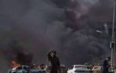 افغانستان: کار بم دھماکے میں8 سیکیورٹی اہلکاروں سمیت 12افراد ہلاک