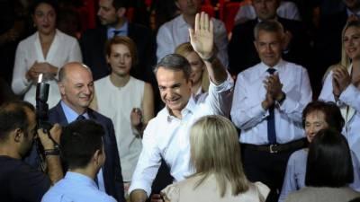 یونان:نیوڈیموکریٹک پارٹی نے عام انتخابات میں کامیابی حاصل کرلی