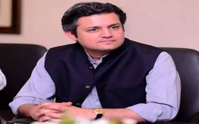 حماد اظہر کو وفاقی وزیر ریونیو ڈویژن کا قلمدان سونپ دیا گیا