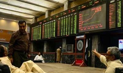 پاکستان اسٹاک ایکسچینج میں کاروباری ہفتے کے دوسرے روز مارکیٹ کھلتے ہی تیزی