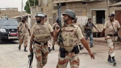 حکومت سندھ کی رینجرز کے ا ختیارات میں3 ماہ کی توسیع کی منظوری