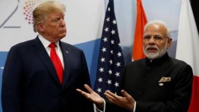 ٹرمپ کا بھارت کے ساتھ امریکی مصنوعات پر ٹیرف کا تنازعہ شدت اختیار کرگیا۔