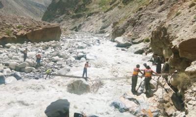 چترال: گولین میں گلیشیئر پھٹنے کے بعد سیلاب، ہزاروں افراد متاثر ، 45افراد کو بحفاظت نکال لیا گیا