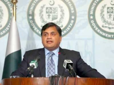 پاکستان اور بھارت کےدرمیان کرتارپورراہداری پراجلاس اتوارکوہوگا:ترجمان دفترخارجہ