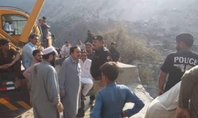اپر کوہستان: گاڑی کھائی میں گرنے سے ہلاکتیں 12 ہو گئیں