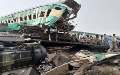 ٹرین حادثے کی ابتدائی رپورٹ 3 روزمیں مکمل کی جائے گی۔ ذرائع ریلوے