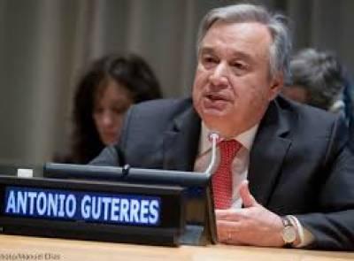 شامی اسپتالوں پر فضائی بمباری، اقوام متحدہ کے سیکریٹری جنرل کی شدید مذمت