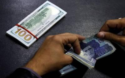 ڈالر کی قدر میں اونچی اڑان کے بعد 35 پیسےکی معمولی کمی