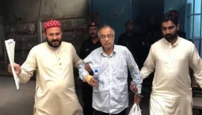 جج ارشد ملک کی ویڈیو بنانےوالے مرکزی ملزم میاں طارق گرفتار