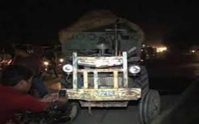 لاہور: ٹریکٹر ٹرالی کی ٹکر سے نوجوان جاں بحق