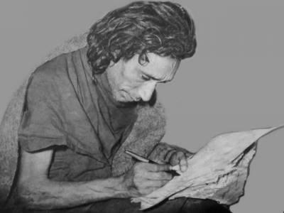 اردو ادب کے عظیم شاعر ساغر صدیقی کی 45ویں برسی کل منائی جائے گی