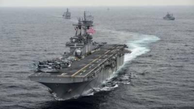 امریکی بحری جہاز کا ایرانی ڈرون مارگرانے کا دعویٰ