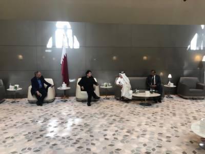وزیراعظم سے قطرایئر ویز کے سی ای او کی ملاقات