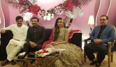فیصل سبزواری اور ٹی وی اینکر مدیحہ نقوی رشتہ ازدواج میں منسلک