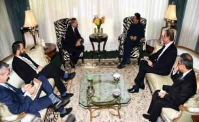 وزیر اعظم سے سینیٹر لنزے گراہم کی ملاقات، افغانستان میں امن کیلئے امریکا کیساتھ کام کرنے کو تیار ہیں: عمران خان
