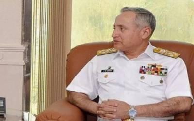 پاک بحریہ کے سربراہ اورمتحدہ عرب امارات کمانڈرکا بحری امور میں تعاون پرتبادلہ خیال