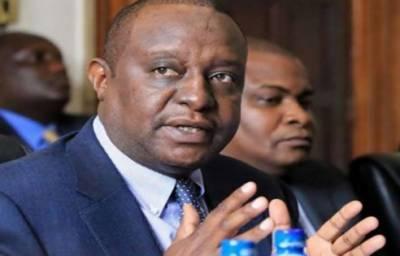 کینیا :وزیر خزانہ بدعنوانی کے الزام میں گرفتار