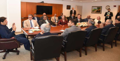 حکومت امریکی سرمایہ کاروں کو پاکستان میں ہرممکن تعاون فراہم کرے گی:وزیراعظم