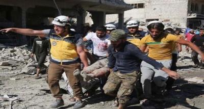 شام میں اتحادی افواج کی فضائی بمباری میں 16 افراد ہلاک اور 36 زخمی