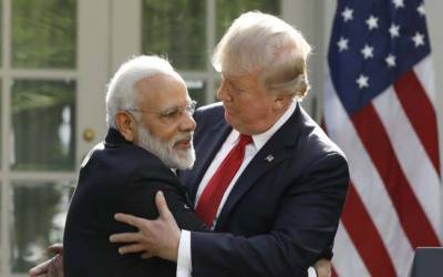 نریندر مودی نے کبھی امریکی صدر کو مسئلہ کشمیر پر ثالث بننے کی درخواست نہیں کی۔بھارت