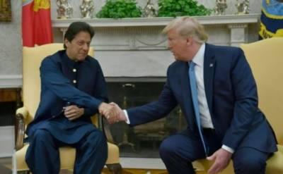 گرمجوش اور فراخدلانہ میزبانی پر صدر ٹرمپ کا شکر گزار ہوں، عمران خان کامسئلہ کشمیر پر امریکی ثالثی کی پیشکش پر بھارتی ردعمل پر اظہار حیرت