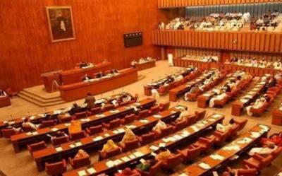 سینیٹ اجلاس:صادق سنجرانی پر عدم اعتماد کی قرارداد پیش، اپوزیشن کی درخواست پر اجلاس ملتوی