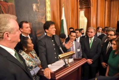 پاکستان،امریکہ کا مقصد خطے میں پائیدار امن کا قیام ہے،وزیراعظم