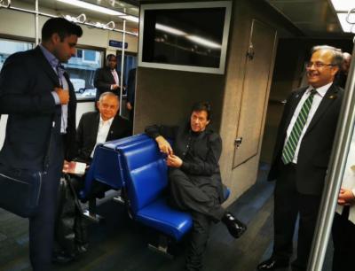 وزیراعظم عمران خان امریکا کے کامیاب دورے کے بعد واپس وطن روانہ