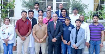 سفیر پاکستان معین الحق نے فرانس پاکستان تعلقات کی بہتری اور تجارت میں اضافے کے لئے بہت کام کیا