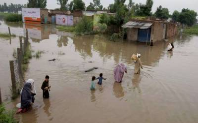 طوفانی بارشوں کے پیش نظر دریائے جہلم کے کناروں پر سیلاب کی وارننگ جاری