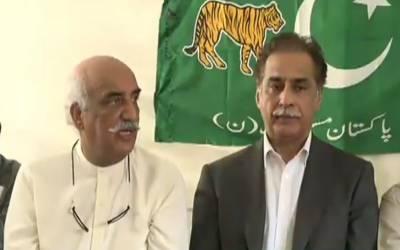 خورشید شاہ نے بھی رحمان ملک سے متعلق ایاز صادق کے تبصرے کی تائید کر دی۔
