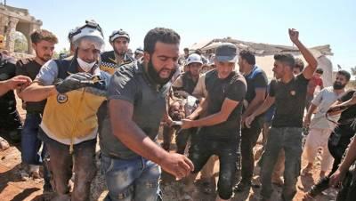 شام: شمال مغربی علاقے میں بمباری سے 20افراد ہلاک