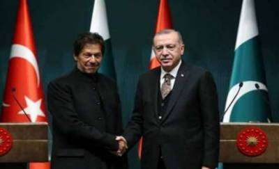 ترک صدر رجب طیب اردوان کا وزیر اعظم عمران خان کو ٹیلی فون، اہم امور پر تبادلہ خیال