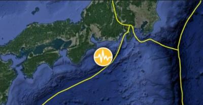 جاپان، جنوبی ساحل کے قریب زلزلے کے جھٹکے