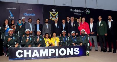 دوسری چیف آف دی ائیر سٹاف انٹرنیشنل اوپن سیلنگ چیمپئین شپ میں پاکستانی سیلرز کی جیت