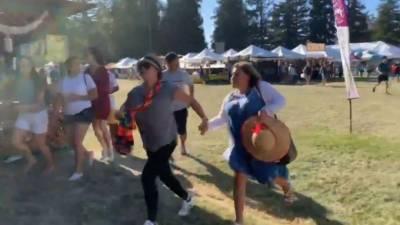 کیلیفورنیا میں ایک فوڈ فیسٹیول کے دوران تین افراد کو ہلاک اور15 کو زخمی کردیا گیا ہے
